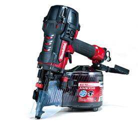 【送料無料】 マキタ AN935H 90mm高圧エア釘打機 エアダスタ付 赤