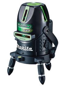 マキタ SK207GPZ レーザー墨出し器 ダイレクトグリーン+ラインポイント (受光器・バイス・三脚別売)