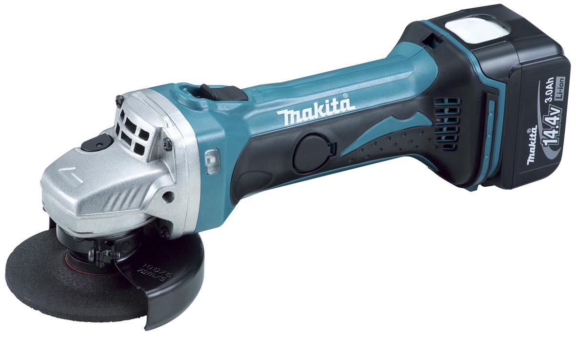 【マキタ MAKITA】 GA400DZ 14.4V 100mm充電式ディスクグラインダー バッテリー、充電器、ケース別売