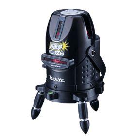 【マキタ MAKITA】【只今特価中!】 SK205PH レーザー墨出し器 高輝度+ラインポイント 耐衝撃 受光器セット、回転雲台付エレベーター三脚付