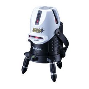 【マキタ MAKITA】【只今特価中!】 SK205P レーザー墨出し器 ラインポイント 耐衝撃 受光器セット、回転雲台付エレベーター三脚付