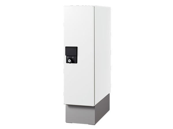 ナスタ 宅配ボックス 据置タイプ SMART KS-TLU160-S500 ホワイト 幅木セット