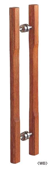 丸喜金属 W-1150 700 マイウッド 三笠ハンドル 両面用 サイズ:700 1組