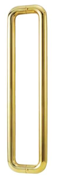 丸喜金属 B-850 304 ミガキ O型ハンドル 両面用 32Φ サイズ:280 1組