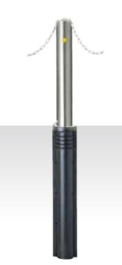 MEDOMALK メドーマルク JN-11 上下式ポール(キャップレス) Φ114.3 ステンレス製 クサリ頭部通し