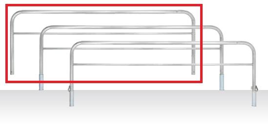 【当店一番人気】 MEDOMALK 受注生産 メドーマルク HS6B-30 固定式 ゲートタイプ 車止め 横桟付 ステンレス製 Φ60.5 固定式 横桟付 受注生産, カホマチ:d1343190 --- supercanaltv.zonalivresh.dominiotemporario.com