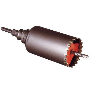 【送料無料】ミヤナガ PCSW75 ポリクリック 振動用コアドリル(セット)ストレート 75X130