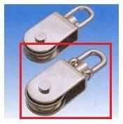 MIZUMOTO 水本機械【MM】 HK-75 ステンレス金具 サンマブロック(沈みシャックルタイプ)