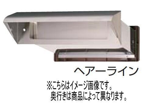 水上金属 ステンシュート No.30 内フタ付気密型 真壁用 ヘアーライン 壁厚調整範囲95~140