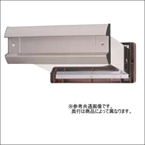 水上金属 No.2000ポスト 内フタ付気密型 真壁用 ヘアーライン(クリアー仕上げ) 壁厚調整範囲95~140