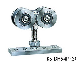 キョーワナスタ ドアハンガー部材 KS-DH54PS 複車ハンガー+プレート #50ステンレスドアハンガー