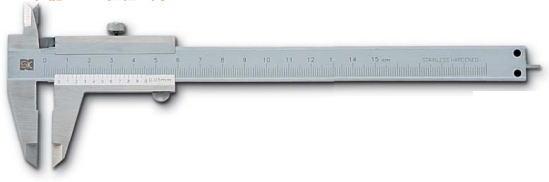 新潟精機 SK 測定工具 TVC-100 151096 シルバー標準型ノギス ※