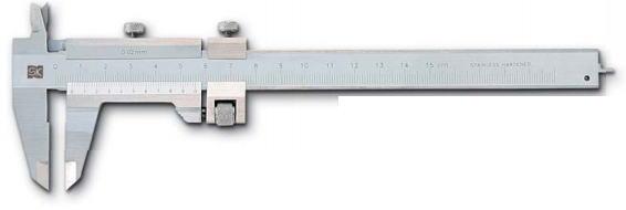 新潟精機 SK 測定工具 THB-30 151303 シルバーM型ノギス微動送り付