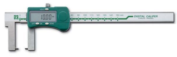 新潟精機 SK 測定工具 D-150NP 151310 デジタルネックノギス ポイント型