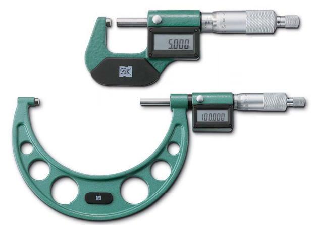 新潟精機 SK 測定工具 MCD130-50 151262 デジタル外側マイクロメータ