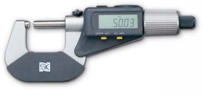 新潟精機 SK 測定工具 MCD191-30WD 152191 ダブルディスプレイデジタルマイクロメータ
