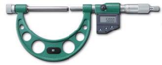 新潟精機 SK 測定工具 MCD136-100 152151 デジタル替アンビル式外側マイクロメータ