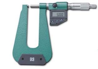 新潟精機 SK 測定工具 MCD233-100U 152111 デジタルU字形鋼板マイクロメータ