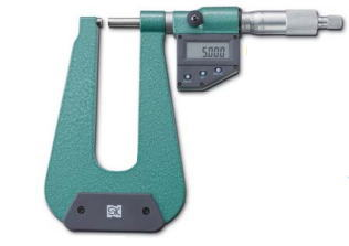 新潟精機 SK 測定工具 MCD233-150U 152112 デジタルU字形鋼板マイクロメータ