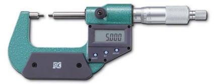 新潟精機 SK 測定工具 MCD230-25SA 152121 デジタルスプラインマイクロメータ
