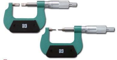 新潟精機 SK 測定工具 MC201-50BA 151472 直進式ブレードマイクロメータ