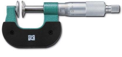 新潟精機 SK 測定工具 MC200-25D 151481 直進式歯厚マイクロメータ