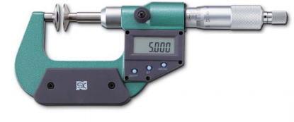 新潟精機 SK 測定工具 MCD230-50D 152142 デジタル直進式歯厚マイクロメータ