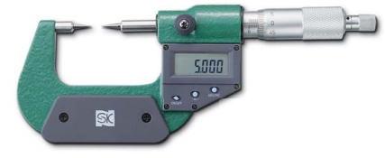 新潟精機 SK 測定工具 MCD232-25P 152171 デジタルポイントマイクロメータ