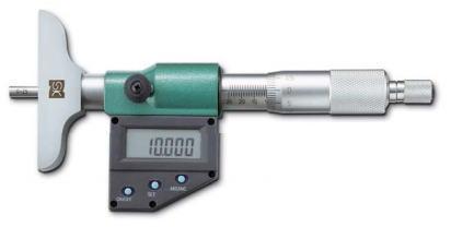 新潟精機 SK 測定工具 MCD233-25FB 152182 デジタルデプスマイクロメータ