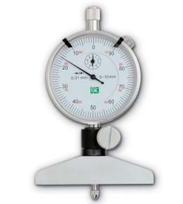 新潟精機 SK 測定工具 DD-1050 151711 ダイヤルデプスゲージ