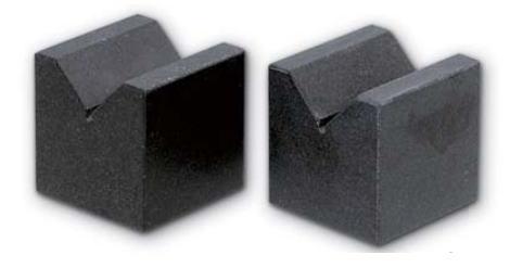 新潟精機 SK 測定工具 GV-75 150962 石製精密Vブロック