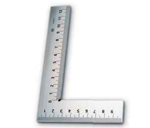 新潟精機 SK 測定工具 E-100 002603 目盛付平形スコヤ