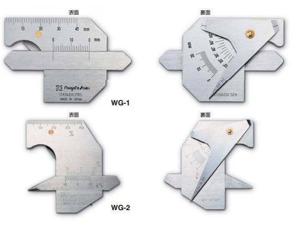 新潟精機 SK 測定工具 WG-2 007503 溶接ゲージ