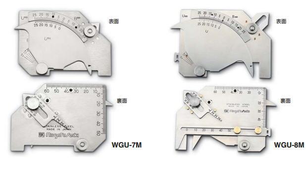 新潟精機 SK 測定工具 WGU-8M 007514 溶接ゲージ