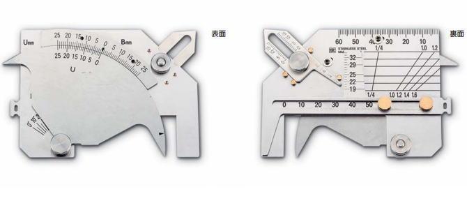 新潟精機 SK 測定工具 WGU-9M 007515 溶接ゲージ