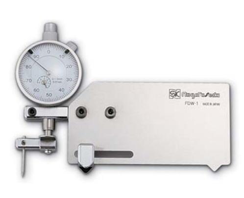 新潟精機 SK 測定工具 FDW-1 007520 溶接ゲージ