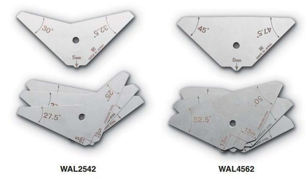 新潟精機 SK 測定工具 WAL2542 007550 角度限界ゲージ