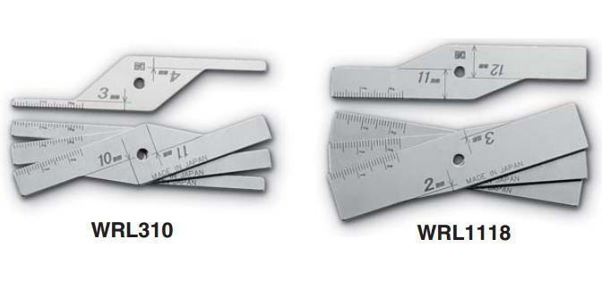 新潟精機 SK 測定工具 WRL310 007560 ルート間隔限界ゲージ