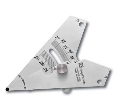 新潟精機 SK 測定工具 WGA-65 007518 アングル開先ゲージ