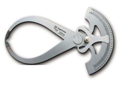 新潟精機 SK 測定工具 GCC-250 002008 目盛付外兼用キャリパ