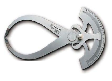 新潟精機 SK 測定工具 GCC-400 002011 目盛付外兼用キャリパ ※
