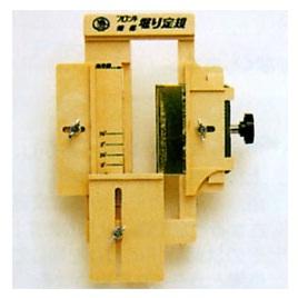 RAKUDA ラクダ 12020 作業工具・大工道具 トリマー用フロント蝶番掘り定規