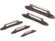 3800-1563 アイワ金属 ワンピース取手 新商品!新型 120mm 期間限定お試し価格 家具用取っ手