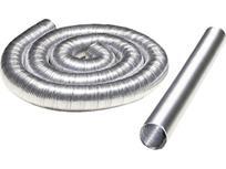 電気化学工業 トヨダクトエアロードAL-N Φ150mm×4m 6本入り アルミフレキ管