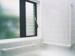 ナカ工業 ニューソフトハンド P-34NV L型 浴室手すり Φ34×700×600mm P34NV-7060
