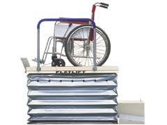 花岡車両 フラットリフト 200J 車椅子用電動リフト 最大積載量200kg ※