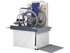 花岡車両 スマートリフト120 車椅子用電動リフト S-120 最大積載量120kg ※