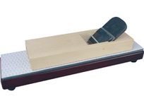 小山金属工業所 ペーパー面直し器 本体 400×100mm 鉋台の面直しと砥石の砥面直しに ペーパー各1枚付