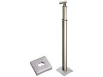 積水樹脂 アプローチEレール 支柱(ベースプレート式)カバー付 手すり支柱