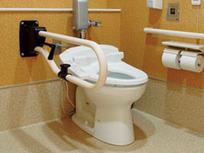 ナカ工業 愛の手オーバル補助手すり CU 縦可動式 トイレ用 バーチ